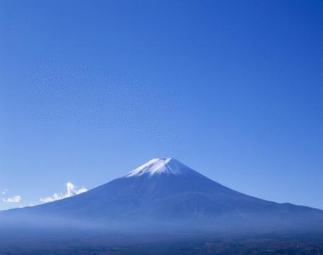 富士山「Mt.Fuji And Blue Sky」:スマホ壁紙(11)