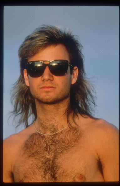 Necklace「Tennis Player Andre Agassi Poses June 1990 In Paris France Agassi Made His Presence Know」:写真・画像(8)[壁紙.com]