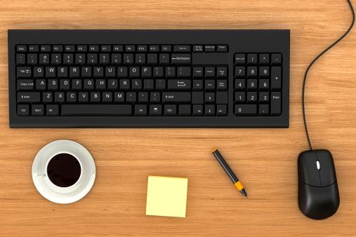 Computer Keyboard「Office Desktop」:スマホ壁紙(7)