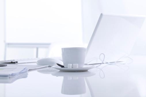 コーヒー「オフィスデスク」:スマホ壁紙(16)