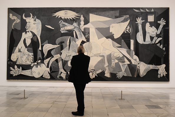 Art Product「'Pity and Terror. Picasso's Path to Guernica' Exhibition Opening in Madrid」:写真・画像(6)[壁紙.com]