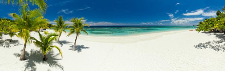 Roatan「West Bay Beach Panoramic」:スマホ壁紙(10)