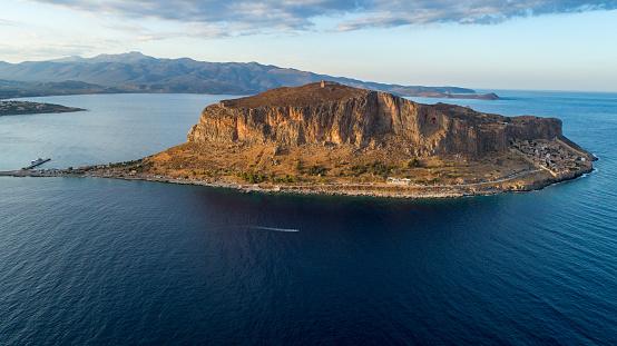 Aegean Sea「Monemvasia on Peloponnese, Greece」:スマホ壁紙(17)