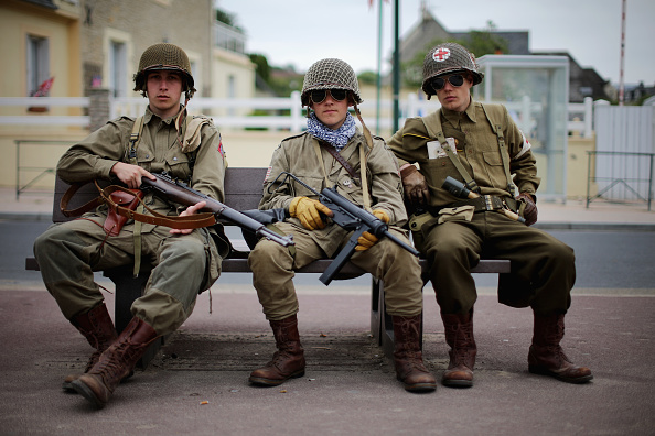 Historical Reenactment「Preparation Ahead Of The 70th Anniversary Of D-Day」:写真・画像(17)[壁紙.com]