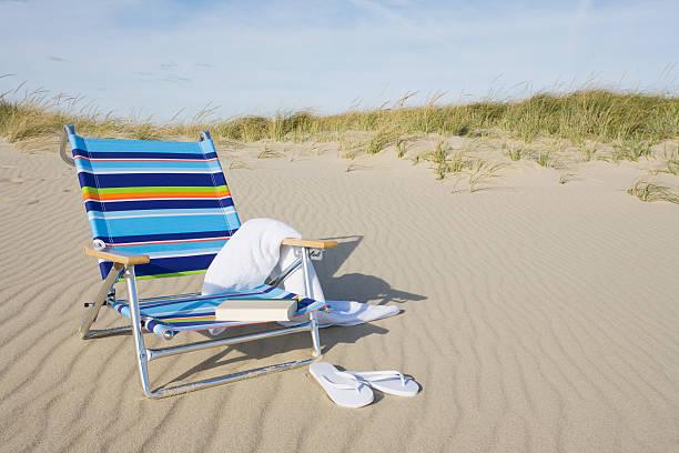 Beach chair:スマホ壁紙(壁紙.com)