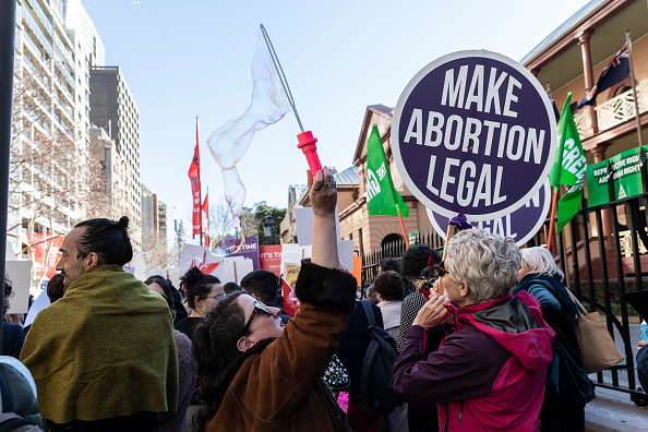 New South Wales「Sydneysiders Rally In Support Of Decriminalising Abortion」:写真・画像(8)[壁紙.com]