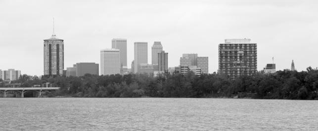 アーカンソー川「Tulsa Skyline」:スマホ壁紙(16)