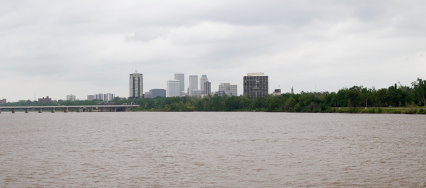 Arkansas River「Tulsa Skyline」:スマホ壁紙(5)