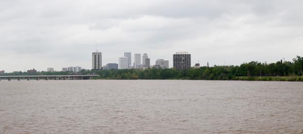 アーカンソー川「Tulsa Skyline」:スマホ壁紙(4)