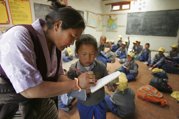 Classroom「Tibetan Buddhist Exile Community Prepares For The 70th Birthday Of The Dalai Lama」:写真・画像(8)[壁紙.com]