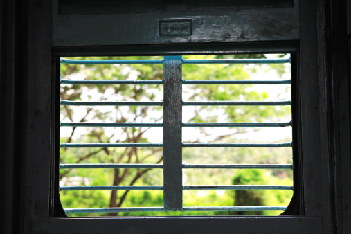 Train Interior「View from a window of a train」:スマホ壁紙(12)