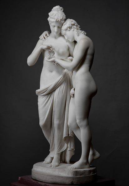 Painted Image「Amor And Psyche」:写真・画像(11)[壁紙.com]