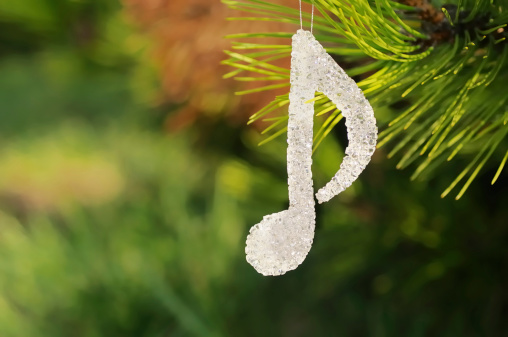 Needle - Plant Part「musical note Christmas decoration」:スマホ壁紙(17)