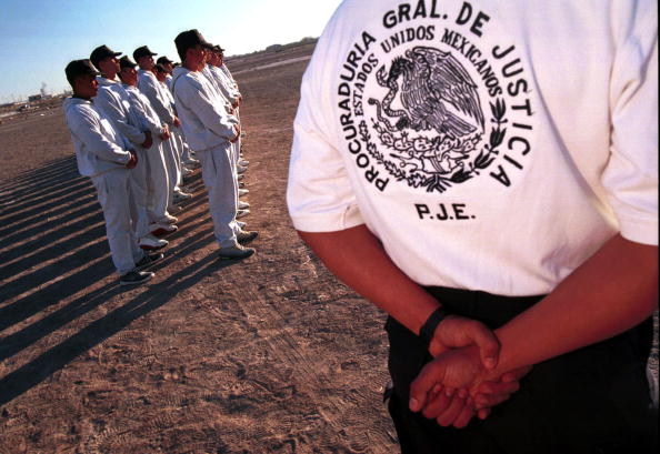Women's Soccer「Mexican Law Enforcement Officials From Ciudad Juarez Prepare To Search For Evidence In A Soccer Fiel」:写真・画像(0)[壁紙.com]