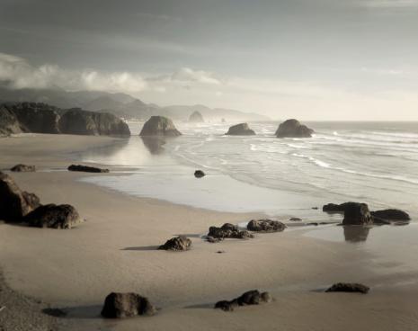 Ecola State Park「Crescent Beach Ecola State Park Oregon」:スマホ壁紙(3)
