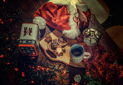 Gingerbread Cookie「Christmas and winter setting.」:スマホ壁紙(2)