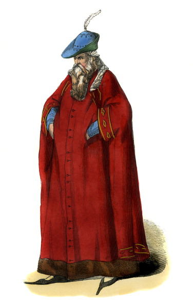 Circa 14th Century「Noble Milanese man - costume of 14th century」:写真・画像(4)[壁紙.com]