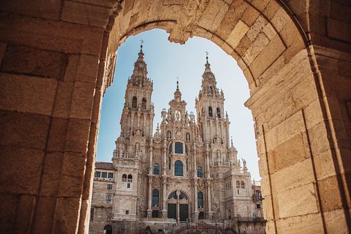 Temple - Building「Santiago de Compostela Cathedral」:スマホ壁紙(9)