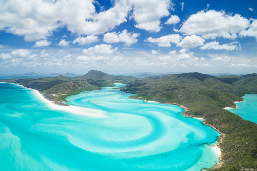 Turquoise Colored「Whitsunday Islands, Great Barrier Reef, Queensland, Australia」:スマホ壁紙(9)