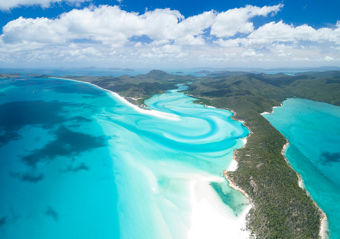 Queensland「Whitsunday Islands, Great Barrier Reef, Queensland, Australia」:スマホ壁紙(14)