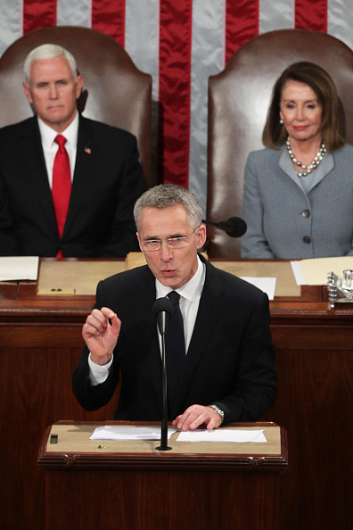 Alex Wong「NATO  Secretary General Addresses Joint Meeting Of Congress」:写真・画像(9)[壁紙.com]