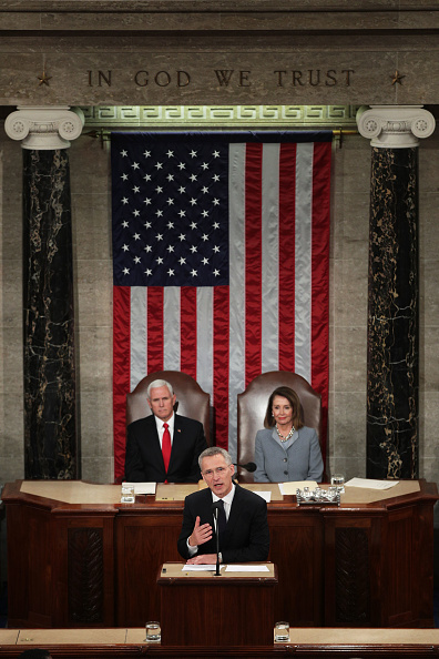 Alex Wong「NATO  Secretary General Addresses Joint Meeting Of Congress」:写真・画像(12)[壁紙.com]