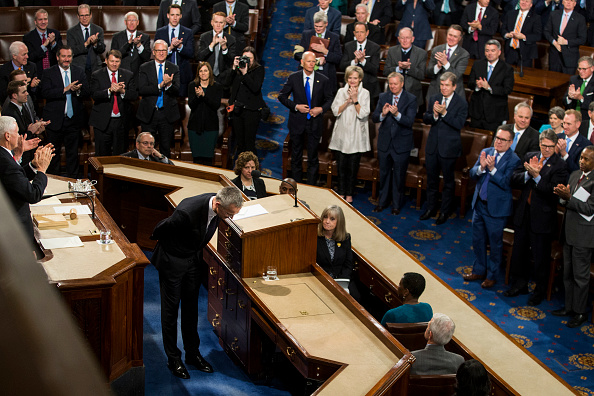 Joint Session of Congress「NATO  Secretary General Addresses Joint Meeting Of Congress」:写真・画像(12)[壁紙.com]