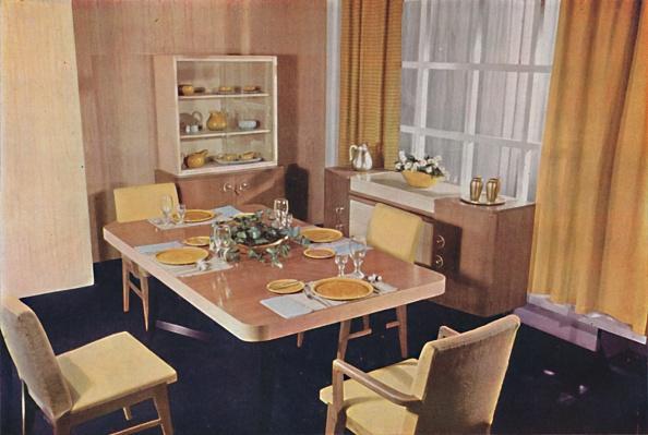 Dining Room「Dining-Room Group In Birds Eye Maple 1」:写真・画像(12)[壁紙.com]