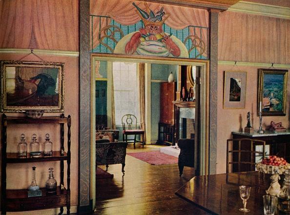 Hardwood Floor「'Dining-room designed by C. Maresco Pearce.', 1941. Artist: Unknown.」:写真・画像(7)[壁紙.com]