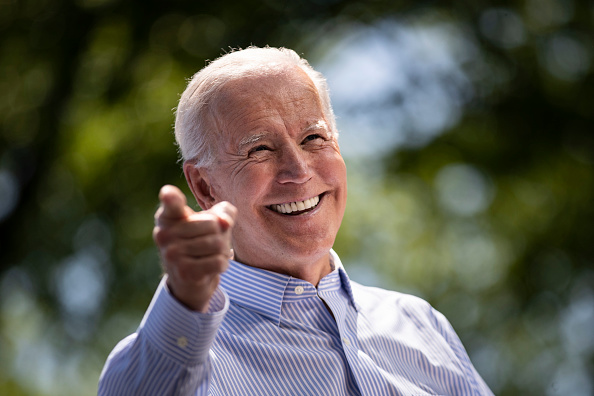 Philadelphia - Pennsylvania「Joe Biden Holds Official Presidential Campaign Kickoff Rally In Philadelphia」:写真・画像(4)[壁紙.com]