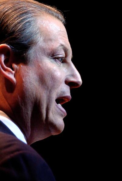 Profile View「Al Gore Makes Major Environmental Speech In New York City」:写真・画像(18)[壁紙.com]
