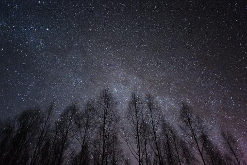 星空「Milky way と星」:スマホ壁紙(5)