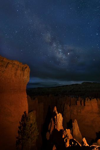 神秘「Milky Way above Bryce Canyon NP」:スマホ壁紙(17)