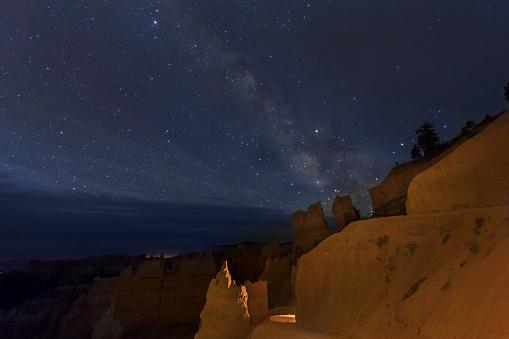 神秘「Milky Way above Bryce Canyon NP」:スマホ壁紙(16)
