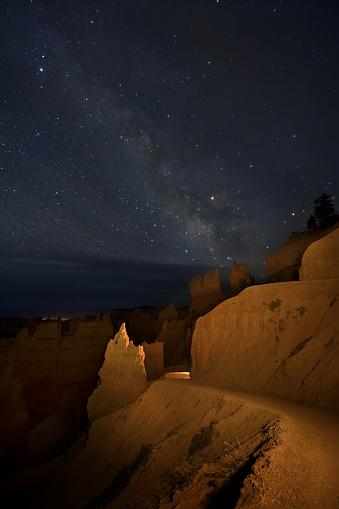 神秘「Milky Way above Bryce Canyon NP」:スマホ壁紙(18)