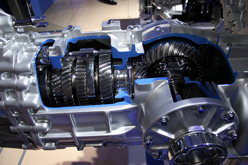 Belt「Gears cutaway in transmission」:スマホ壁紙(3)