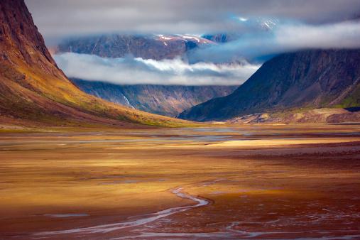 Baffin Island「Pangnirtung Fiord, Auyuittuq NP, Baffin Island, Nunavut, Canada」:スマホ壁紙(9)