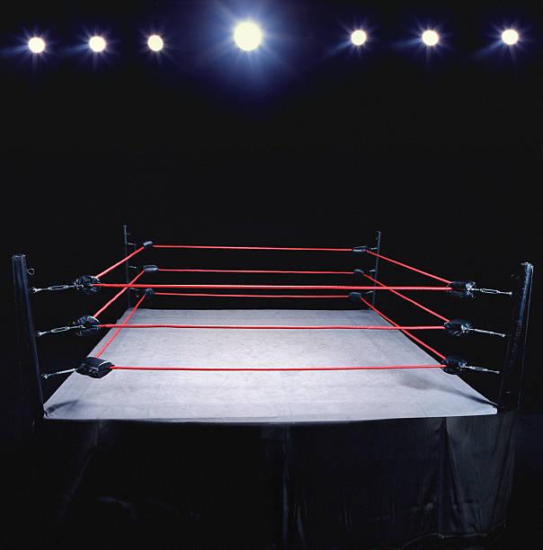 Empty wrestling ring:スマホ壁紙(壁紙.com)