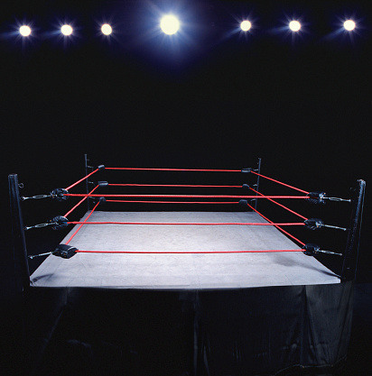 Fighter「Empty wrestling ring」:スマホ壁紙(6)