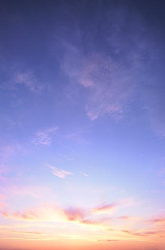 雲「classic sunset」:スマホ壁紙(8)