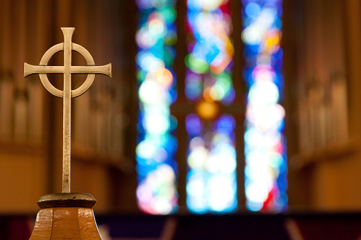 Cathedral「Cross on Church Alter」:スマホ壁紙(12)