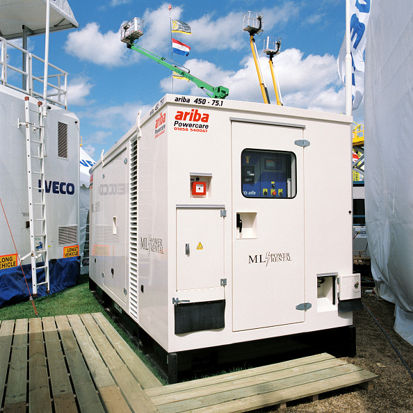 Power Supply「Diesel powered generator unit.」:写真・画像(1)[壁紙.com]