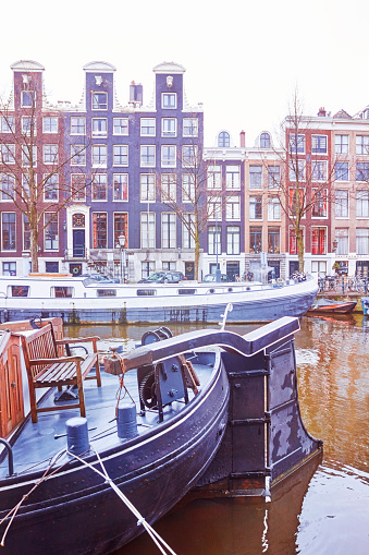 North Holland「Netherlands, Amsterdam, canals and houses」:スマホ壁紙(12)