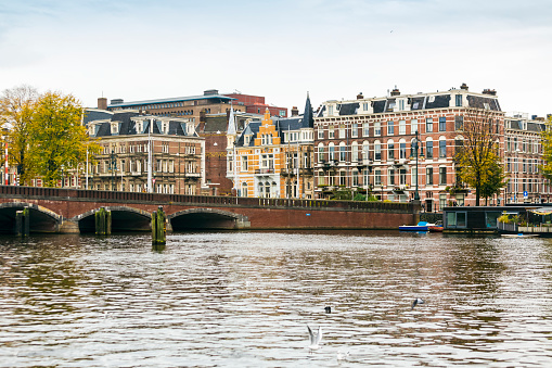 Amsterdam「Netherlands, Holland, Amsterdam, Nieuwe Amstelbrug, moveable bridge」:スマホ壁紙(19)