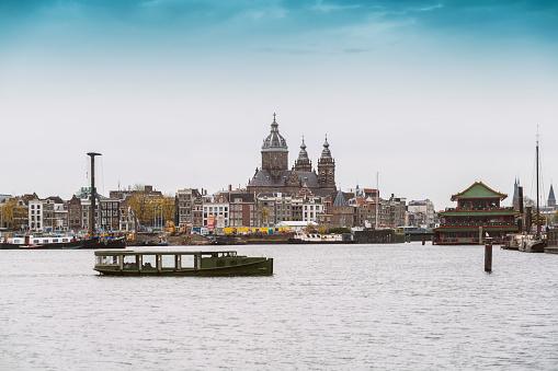 Amsterdam「Netherlands, Holland, Amsterdam, Oosterdok, St. Nicholas' Church」:スマホ壁紙(17)