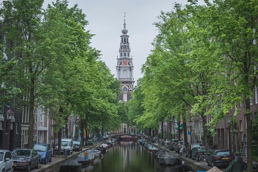 Amsterdam「Netherlands, Amsterdam, Groenburgwal and Zuiderkerk」:スマホ壁紙(7)