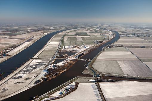 North Brabant「Netherlands, Waalwijk, Overdiepse Polder」:スマホ壁紙(18)