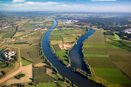 North Brabant「Netherlands, Boxmeer, Maas River」:スマホ壁紙(7)