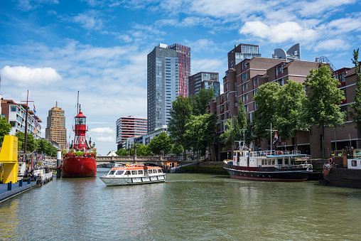 Netherlands「Netherlands, Rotterdam, old harbor and harbor museum」:スマホ壁紙(17)