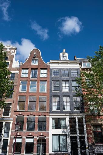 Amsterdam「Netherlands, Amsterdam, historical canal houses」:スマホ壁紙(0)